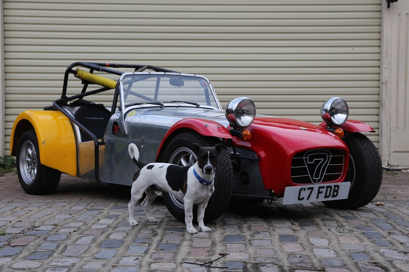 My other Caterham with Shamus