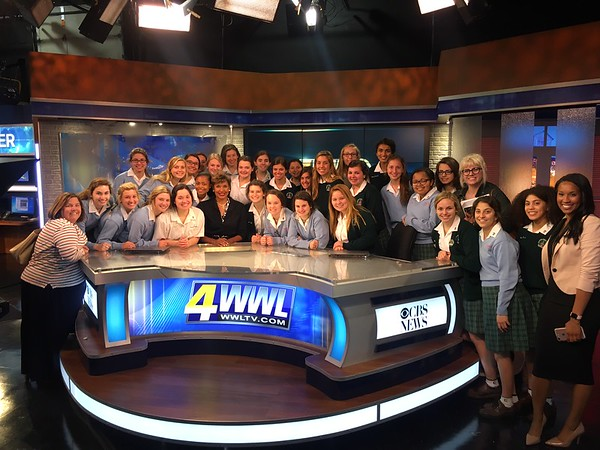 TV Production Field Trip to WWL