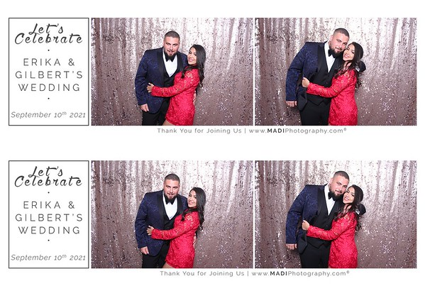 Erika & Gilbert Photobooth