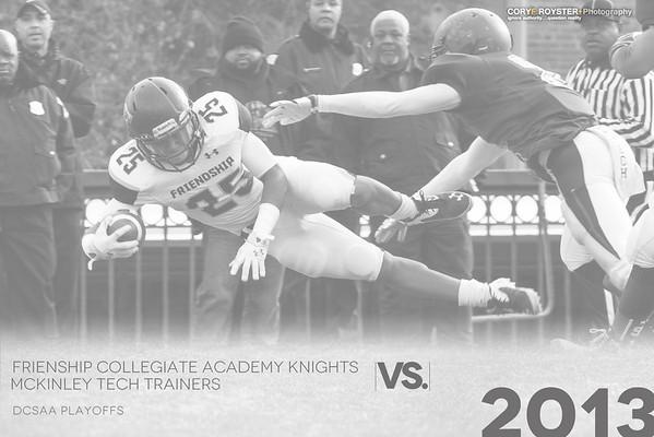 DCSAA Playoffs FCA vs McKinley Tech