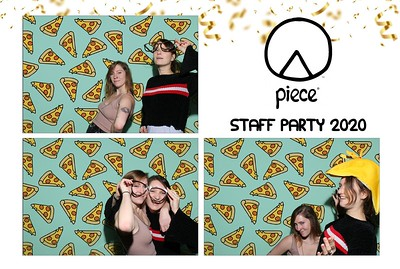 Piece Pizza Staff Party 2020