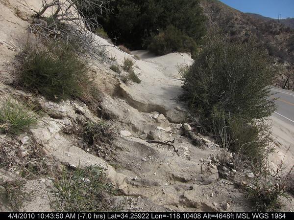 2010-04-04 - Strawberry Peak Trail Damage
