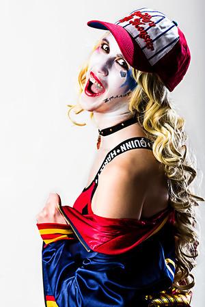 Natalie - Harley Quinn Pin-Up