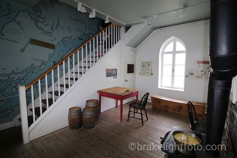 Fisgard Lighthouse Interior
