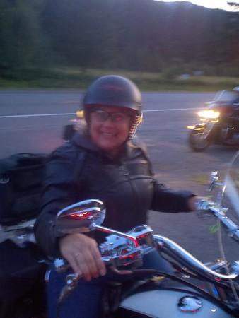 Wednesday dinner ride August 3, 2011