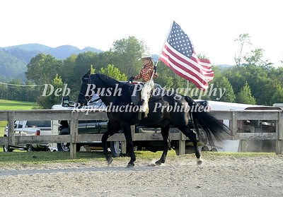 FLAG HORSES - OPENING CEREMONY