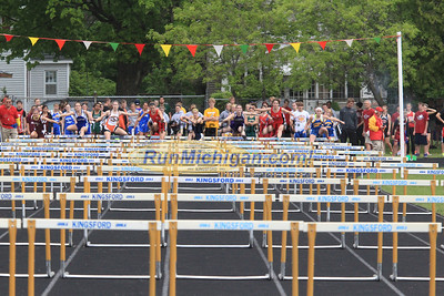 UP Boys and Girls High Hurdles - 2013 MHSAA UP Track Finals