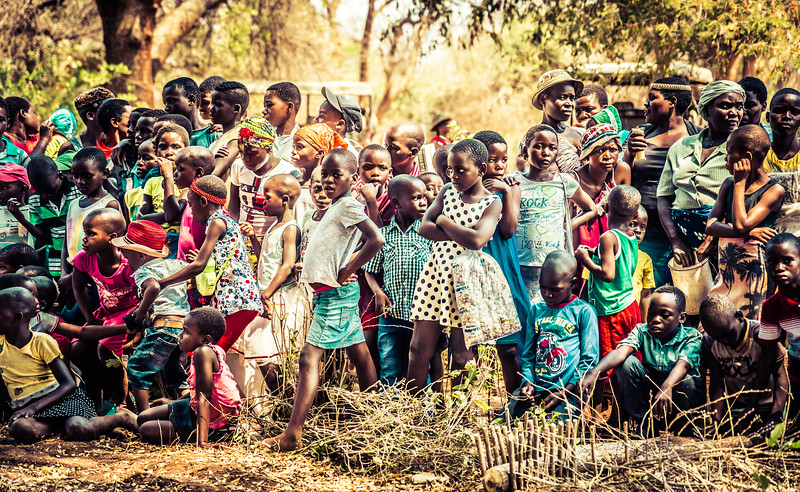 Beautiful Children in Zimbabwe