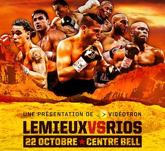 2017 - Gala de boxe LEMIEUX vs RIOS