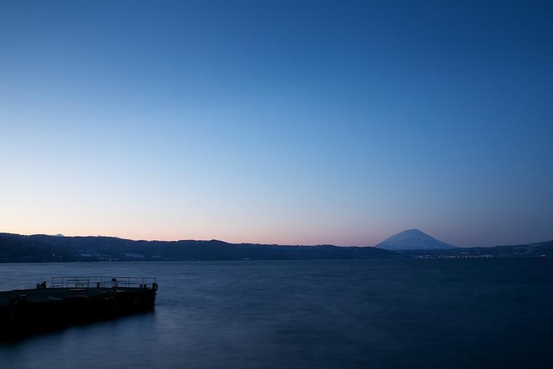 洞爺湖夕照