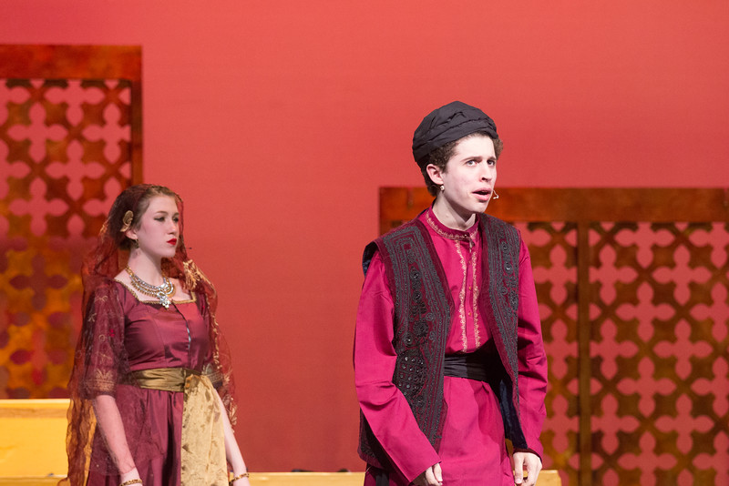 """The Wazir (""""Was I Wazir"""") -- Kismet, Montgomery Blair High School spring musical, April 15, 2016 performance (Silver Spring, MD)"""