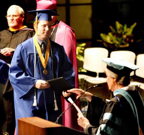 Sarah's Graduation 1
