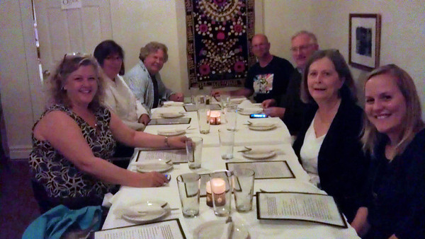 Big Jim's 2012 birthday dinner at Cafe Munir