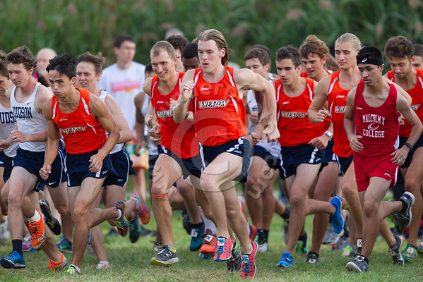 Wheaton College Cross Country at Aurora University Spartan Classic, September 9, 2016