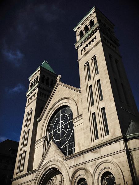 Saint Vincent DePaul church.