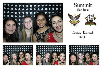 Summit School Winter Formal Photo Booth