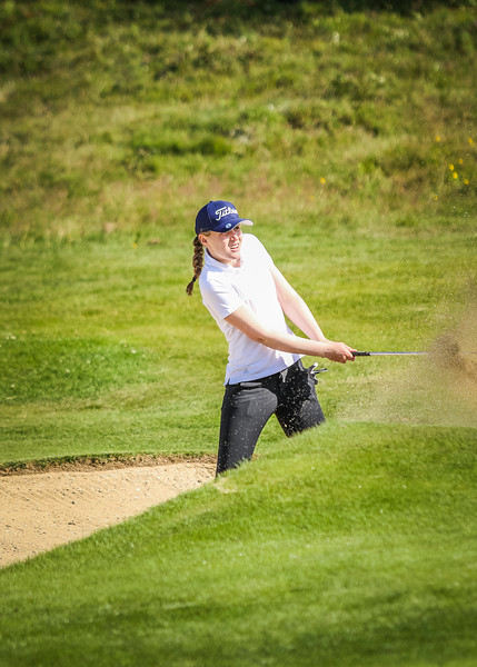 GR, Nína Margrét Valtýsdóttir Íslandsmót í golfi 2019 - Grafarholt 2. keppnisdagur Mynd: seth@golf.is