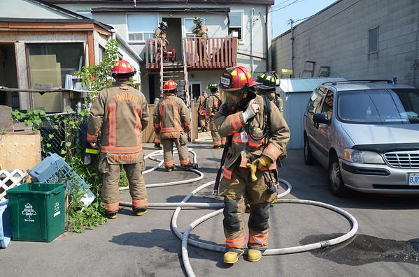 August 4, 2012 - Working Fire - 2216 Kingston Rd.