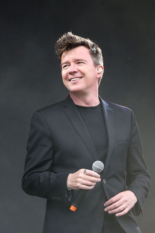 . Rick Astley performs on the MTV Stage as part of the V Festival at Hylands Parks, Chelmsford, Saturday, Aug 20, 2016. Astley will be at House of Blues Cleveland on April 22. For more information, visit www.houseofblues.com/cleveland. (Photo by Joel Ryan/Invision/AP)
