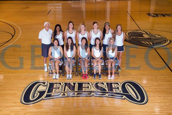 Women's Tennis Team Photos
