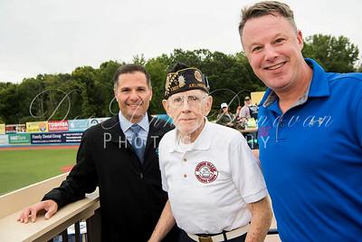 Hudson Valley Renegades Baseball-Veterans Appreciation Day