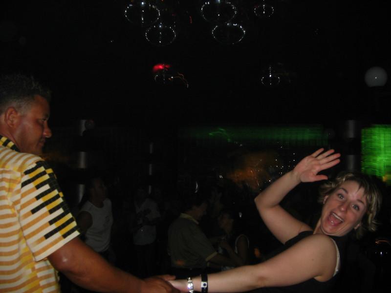 Leanne dancing