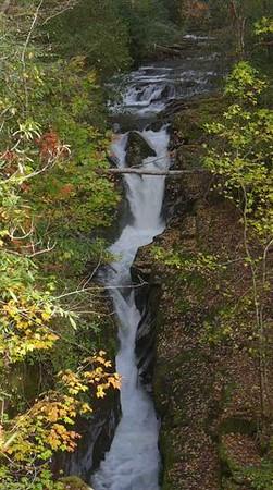 Eastatoe Narrows in Fall Color