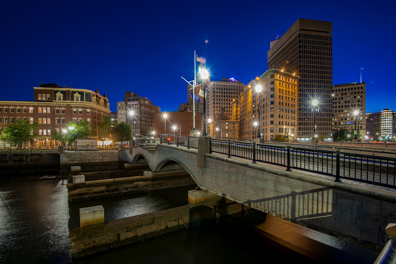 S Water Street Bridge, Downtown Providence, RI