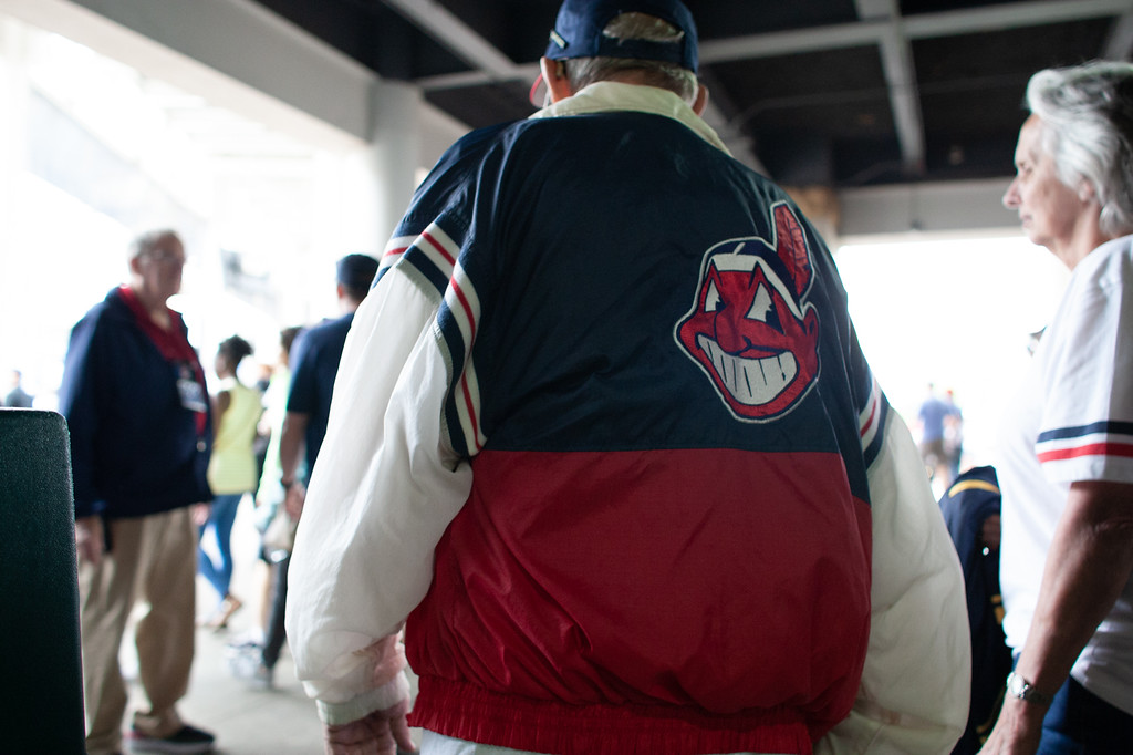 . Seen at the Indians game on June 20, 2018. (The Morning Journal/Michael Johnson)