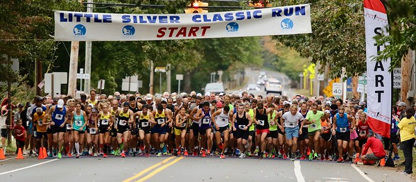 2019 LITTLE SILVER 5K RACE, (5K, 1Mile, Kiddy, Volunteers and Race Awards)