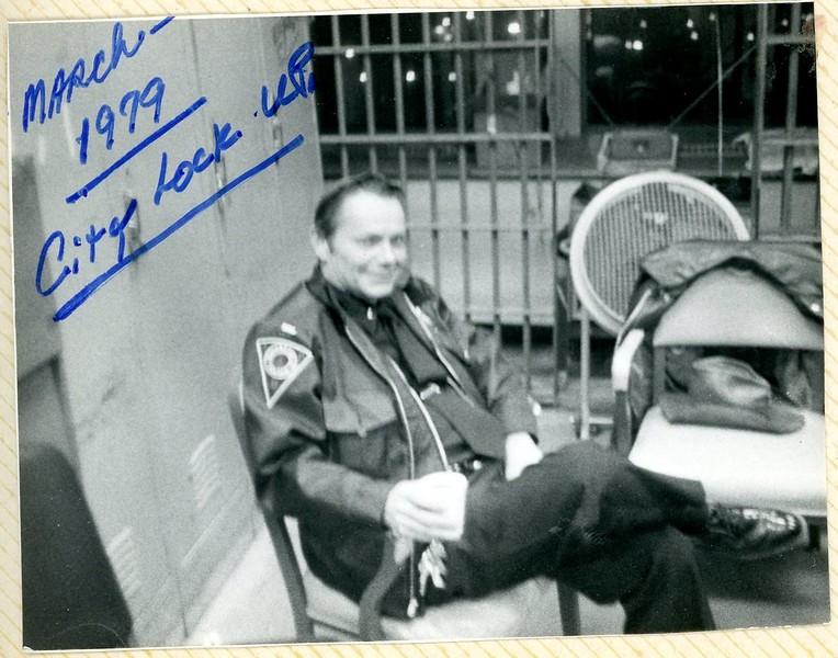 March 1979 City Lockup Howard Joe ALlen photo