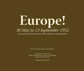 Europe 1952