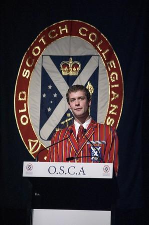 OSCA Dinner 23/10/2005