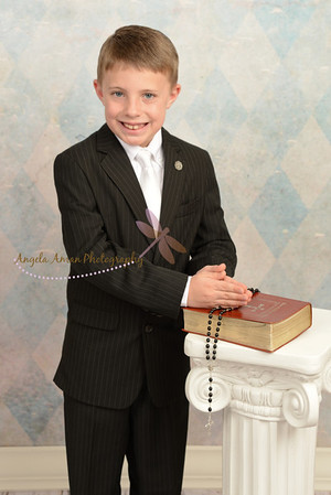 Jack's Communion Portraits