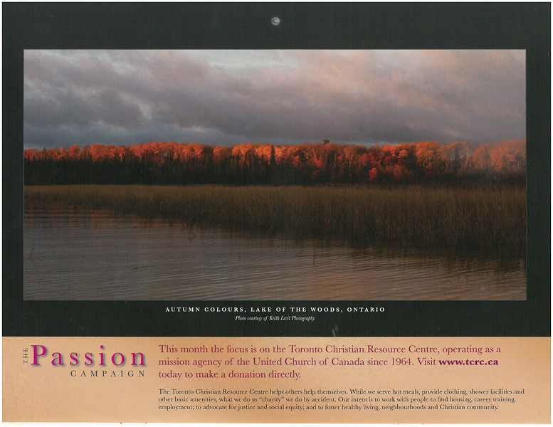 2009 Passion Campaign Calendar Oct. 2009 Autumn Colours, Lake of the Woods, Ontario page.jpg