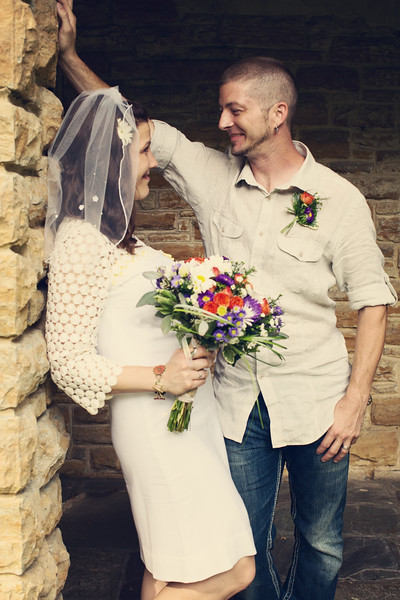 {  jesse + kathy }  = married!