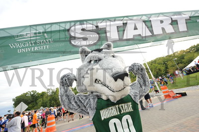 9207 WPAFB and Wright State 5K run 9-14-12