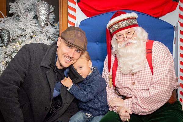 2018 1-2 pm Santa at the Grove Arcade