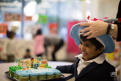 4th Birthday at School