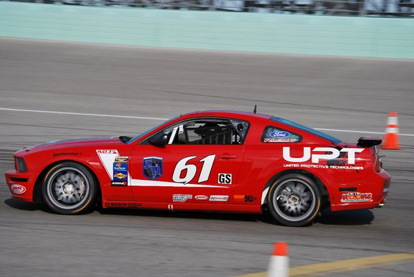 Jack Roush Jr, Billy Johnson #61 Roush Performance Products Mustang