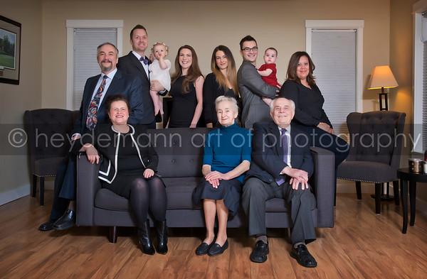 Hill Family Portrait