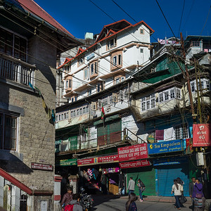 Darjeeling - the city