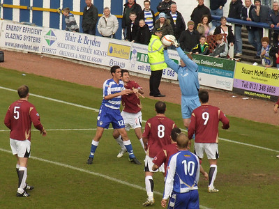 Morton 2 Ayr United 1, Irn Bru Scottish Football League Championship First Division, 1st May 2010