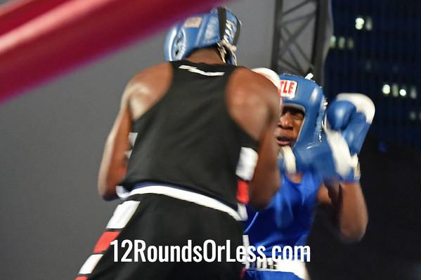Bout #10 Kemp Tarver, Akron/BSBA -vs- James Parks, Cleveland/Romeo, 136 lbs