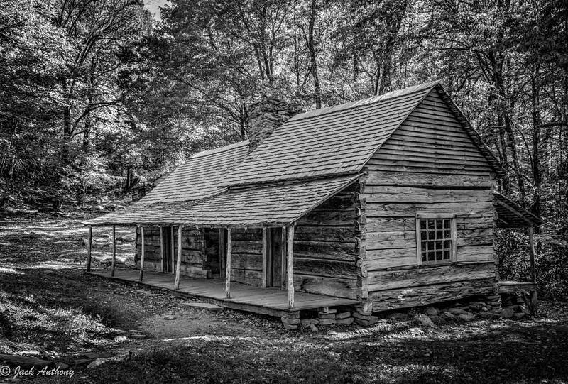 House in Smoky  Mountain NP