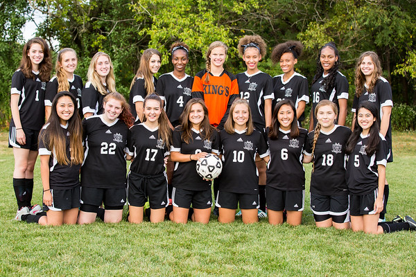Girls High School Soccer Team