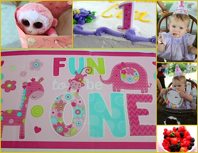 "Cora's ""Fun to be One"" Birthday Celebration 06.07.2015"