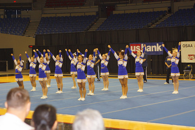 NHS CHEER - Places 2nd at STATE 2-13-10