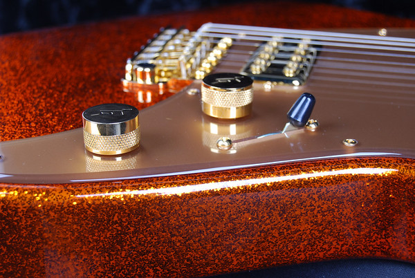 Reserve PlexiJet, Orange Sparkle, TV Jones Pickups
