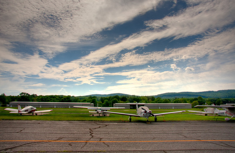 Planes at Lincoln Park Airfield NJ
